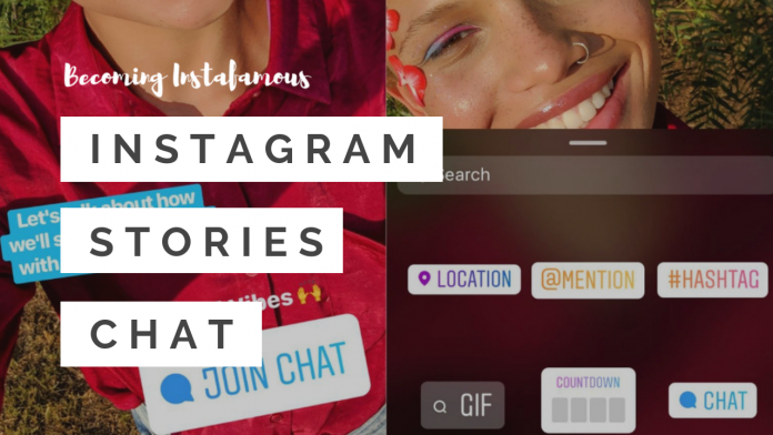 Instagram chat sticker is here