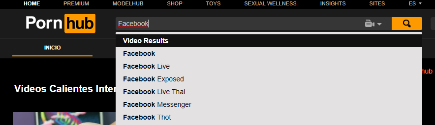 Pornhub weird searches
