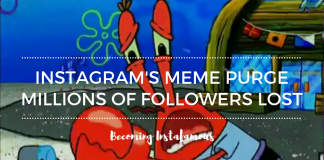Instagram did a meme purge
