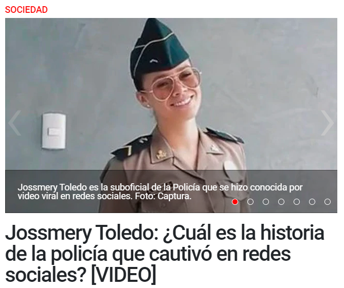 Who is Jossmery Toledo