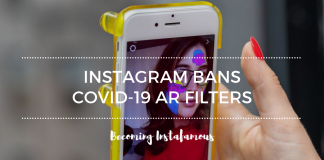 COVID-19 filters are no longer allowed on Instagram
