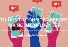 When not to hire and Instagram influencer